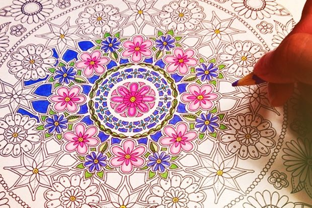 "Colouring is my ""safe"" activity. Image by Paula Signolfi Cyoia via takepart."